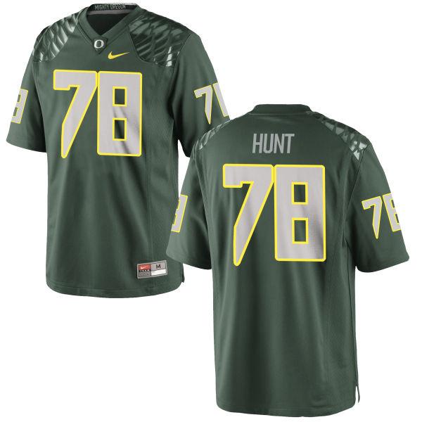 Men's Nike Cameron Hunt Oregon Ducks Authentic Green Football Jersey