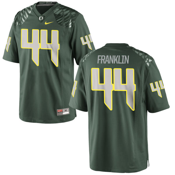 Men's Nike Darrian Franklin Oregon Ducks Authentic Green Football Jersey