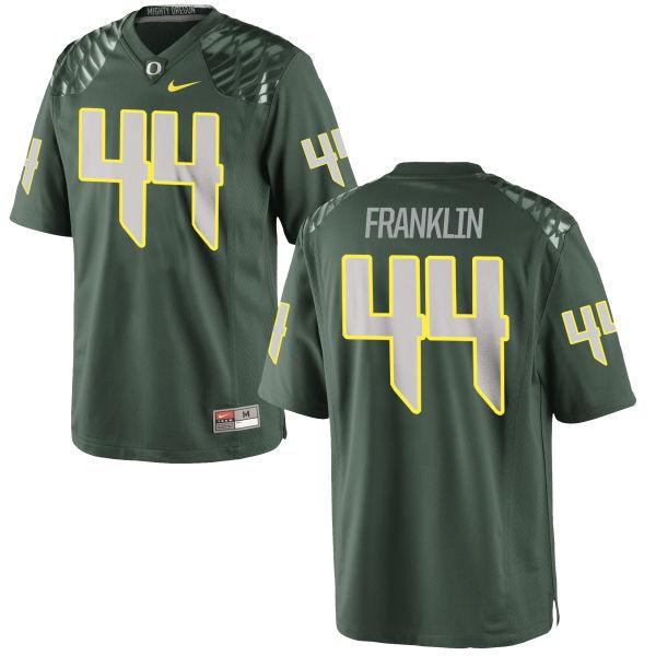 Men's Nike Darrian Franklin Oregon Ducks Limited Green Football Jersey