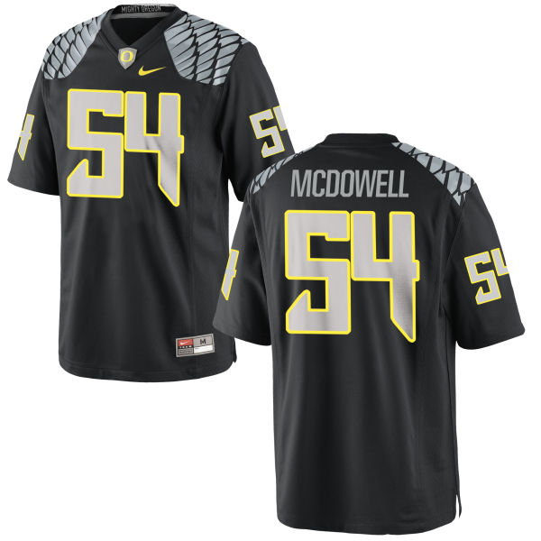 Men's Nike De'Quan McDowell Oregon Ducks Game Black Jersey
