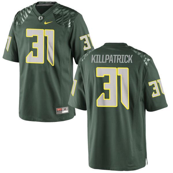 Men's Nike Sean Killpatrick Oregon Ducks Replica Green Football Jersey