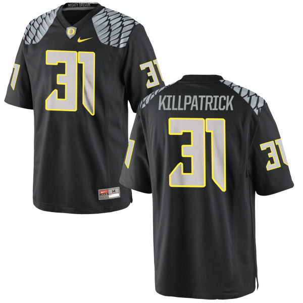 Men's Nike Sean Killpatrick Oregon Ducks Replica Black Jersey