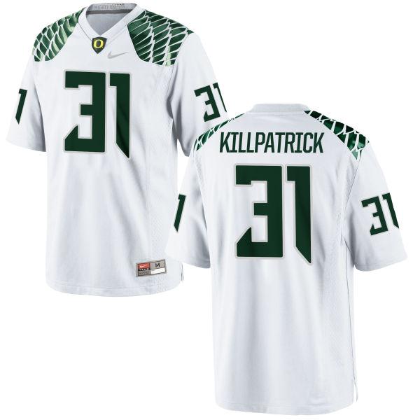 Men's Nike Sean Killpatrick Oregon Ducks Authentic White Football Jersey