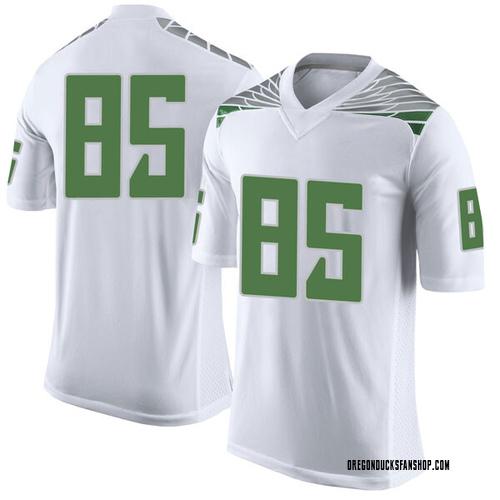 Men's Nike Alfonso Cobb Oregon Ducks Limited White Football College Jersey