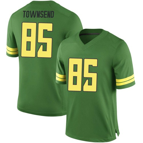 Men's Nike Isaac Townsend Oregon Ducks Replica Green Football College Jersey