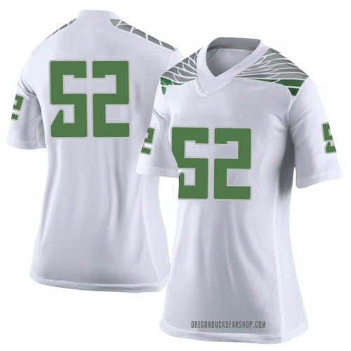 Women's Nike Andrew Faoliu Oregon Ducks Limited White Football College Jersey