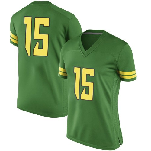 Women's Nike Bennett Williams Oregon Ducks Replica Green Football College Jersey