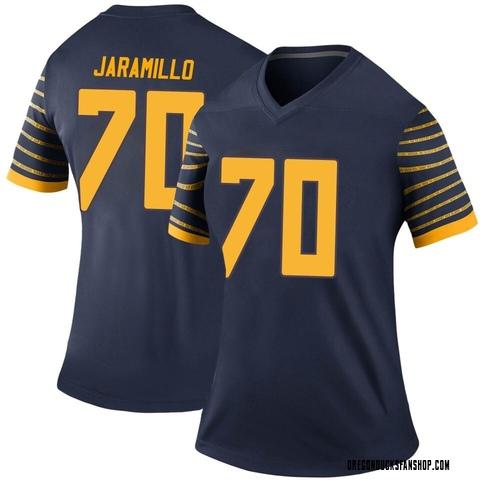 Women's Nike Dawson Jaramillo Oregon Ducks Legend Navy Football College Jersey