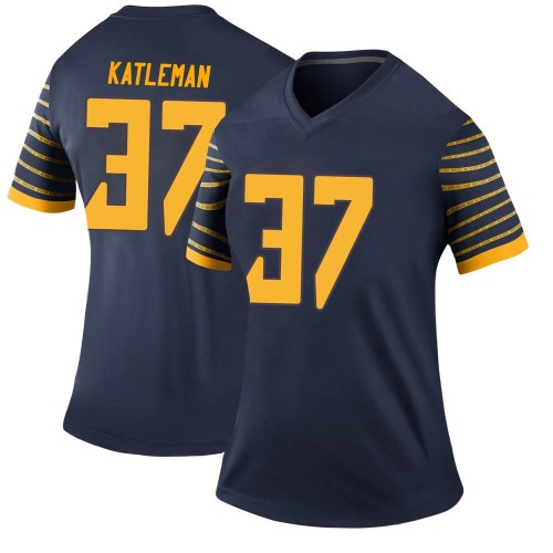 Women's Nike Henry Katleman Oregon Ducks Legend Navy Football College Jersey