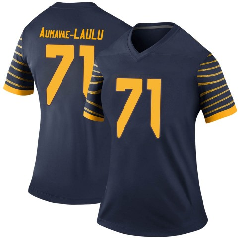 Women's Nike Malaesala Aumavae-Laulu Oregon Ducks Legend Navy Football College Jersey