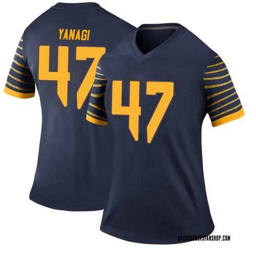 Women's Nike Peyton Yanagi Oregon Ducks Legend Navy Football College Jersey