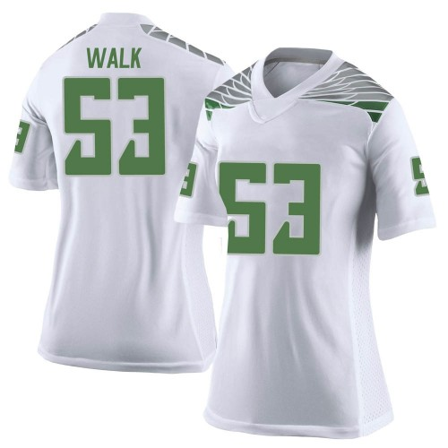 Women's Nike Ryan Walk Oregon Ducks Limited White Football College Jersey