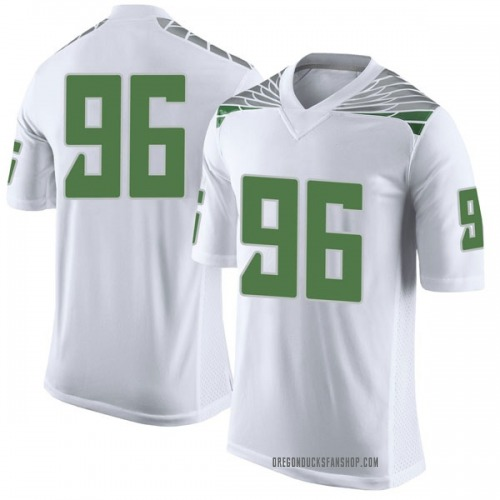 Youth Nike Adam Stack Oregon Ducks Limited White Football College Jersey