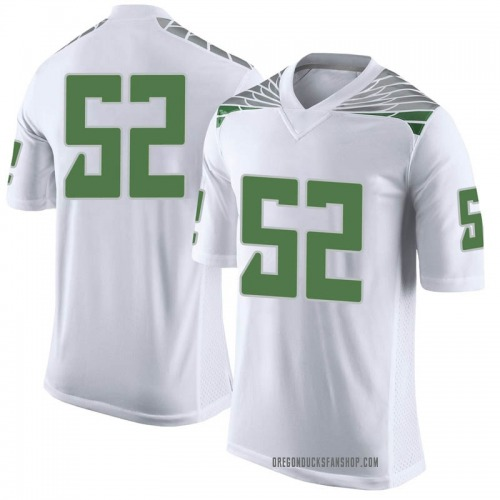Youth Nike Andrew Faoliu Oregon Ducks Limited White Football College Jersey