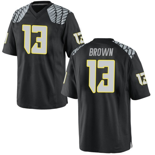 Youth Nike Anthony Brown Oregon Ducks Replica Black Football College Jersey