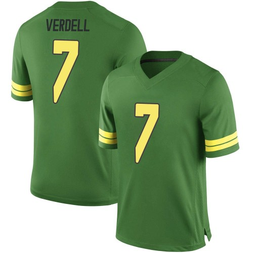 Youth Nike CJ Verdell Oregon Ducks Replica Green Football College Jersey
