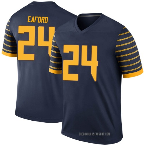 Youth Nike Ge'mon Eaford Oregon Ducks Legend Navy Football College Jersey