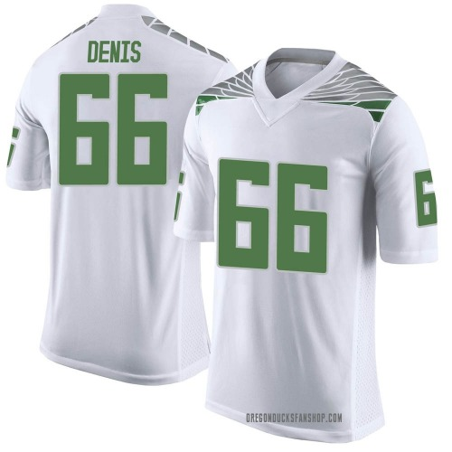 Youth Nike Jonathan Denis Oregon Ducks Limited White Football College Jersey