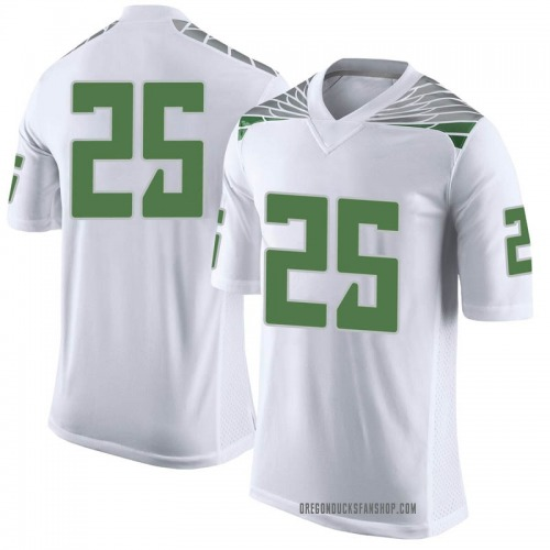 Youth Nike Kyle Buckner Oregon Ducks Limited White Football College Jersey