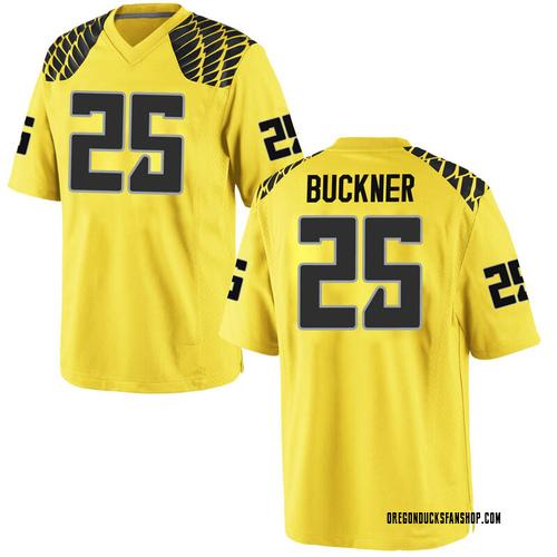 Youth Nike Kyle Buckner Oregon Ducks Replica Gold Football College Jersey