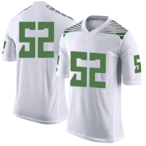 Youth Nike Miguel Nevarez Oregon Ducks Limited White Football College Jersey