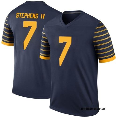Youth Nike Steve Stephens IV Oregon Ducks Legend Navy Football College Jersey