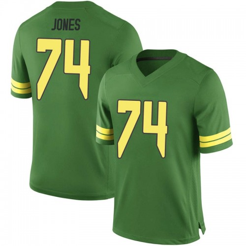 Youth Nike Steven Jones Oregon Ducks Replica Green Football College Jersey