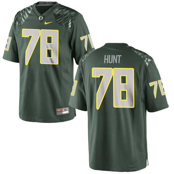 Men's Nike Cameron Hunt Oregon Ducks Authentic Green Football Jersey